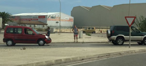 Los coches involucrados en el accidente (Fotos: Juan Manuel Torres)
