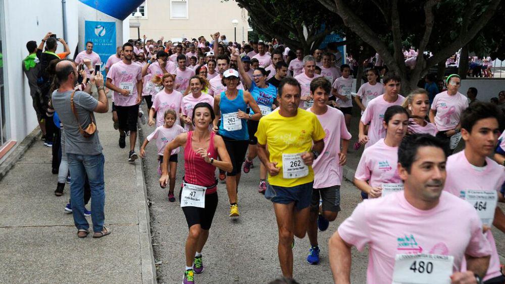 Imagen de la carrera de Sant Lluís (Foto: Tolo Mercadal)