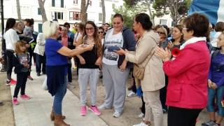 Las hermanas Borràs recibieron en 2015 un homenaje por parte de la Fundación Respiralia por la organización de este acto