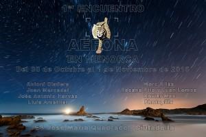 Cartel del encuentro en Menorca de AEFONA.