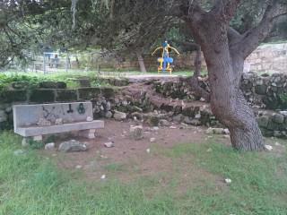 El parque de Santa Ana, víctima del vandalismo