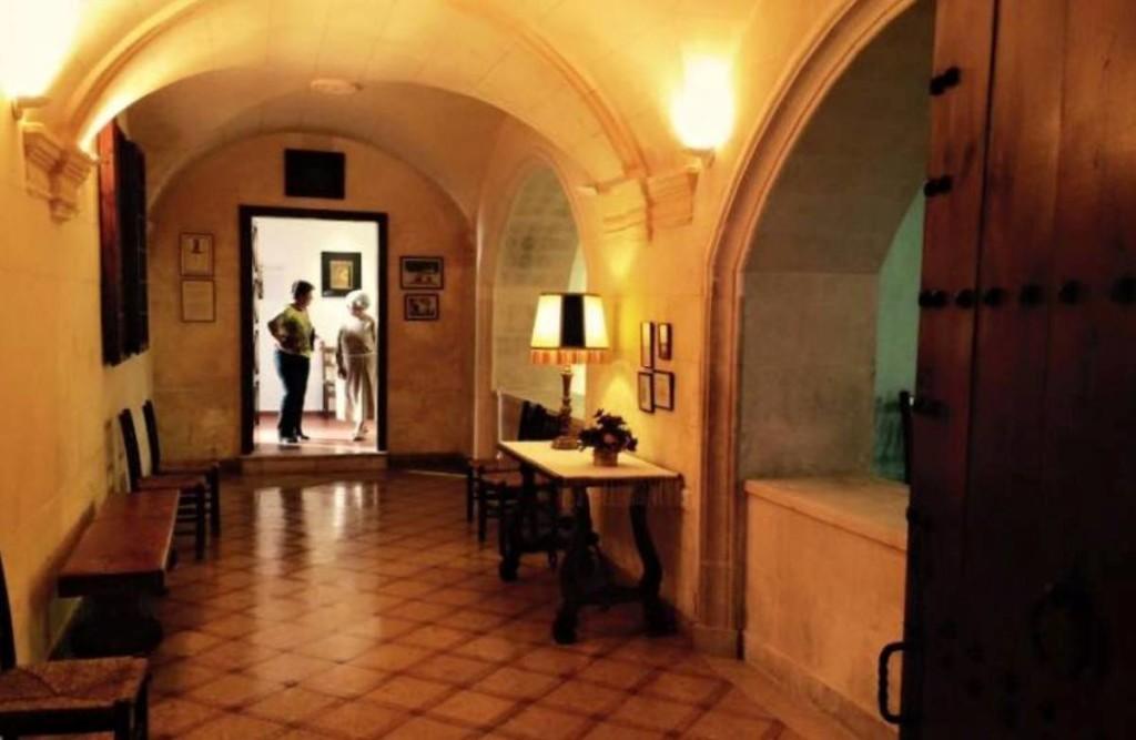 Esta sala del convento de Santa Clara se adaptará para el taller. Foto: Fra Roger Gastronomia i Cultura.