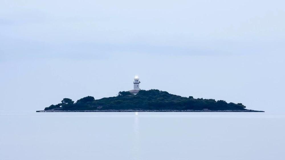 Faro de Aucanada en Mallorca. Foto: Josep Plaja López (primer premio fotográfico de la 5ª edición).