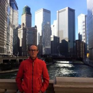 Lluís Salom en Chicago.