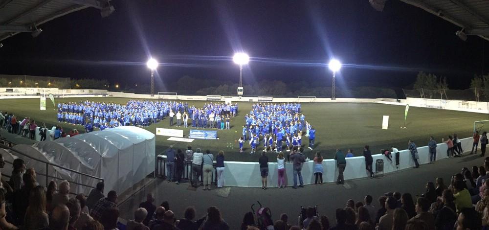 Momento de la celebración (Fotos: CCE Sant Lluís)