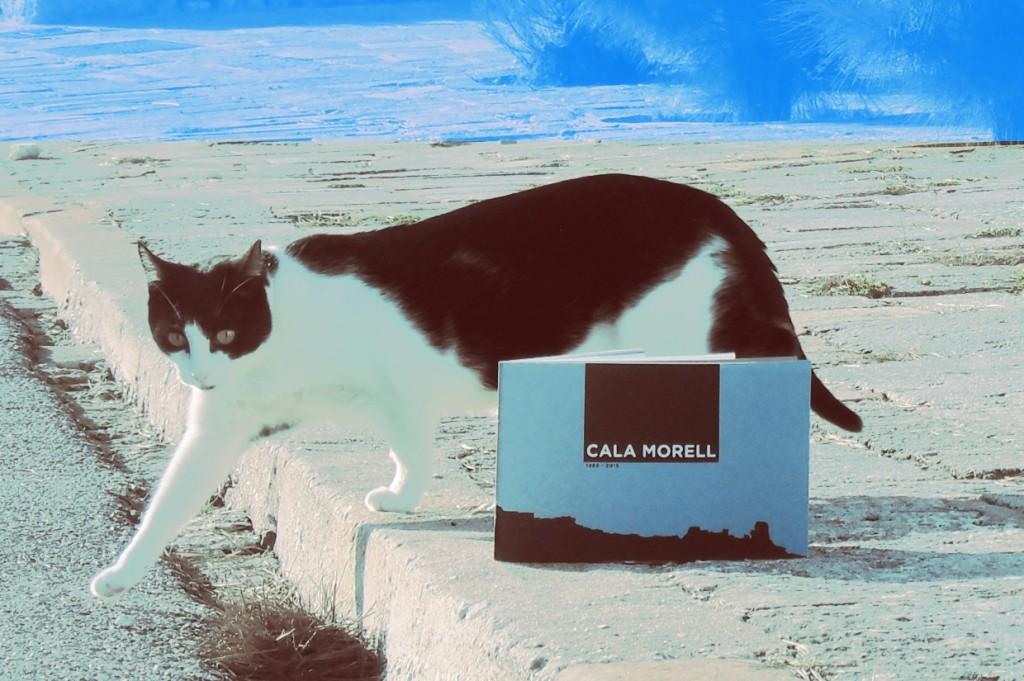 Imagen de la portada del libro sobre Cala Morell.