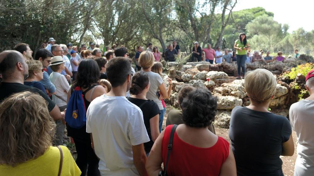 La expectación ha sido máxima en Sa Cudia Cremada de Maó. Foto: Carme Fontestad.