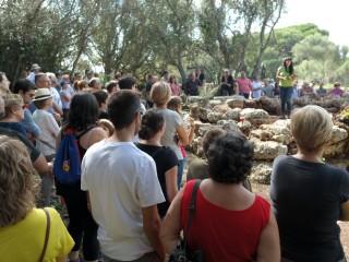 250 personas en las puertas abiertas de Sa Cudia Cremada