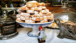 Los 'pastissets' de Can Salort lucen así en el Fornet de La Soca de Palma. Foto: Fornet de La Soca.