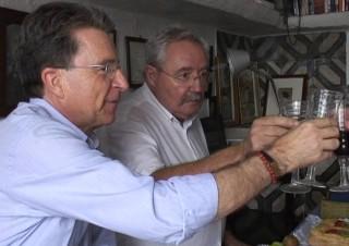 Ponç Pons y Matias Quetglas. Foto: Enyorança Vídeos.