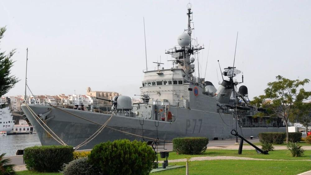 Fotogalería con distintas imágenes del buque (Fotos: Tolo Mercadal)