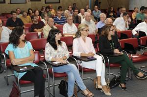 Acto del aniversario de la declaracion como Reserva de Biosfera en el Consell (Foto: T.MERCADAL).