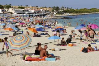 Menorca se llenó de turistas este verano.