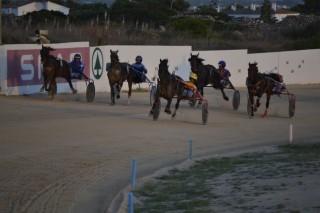 Imagen de la llegada de una de las carreras.