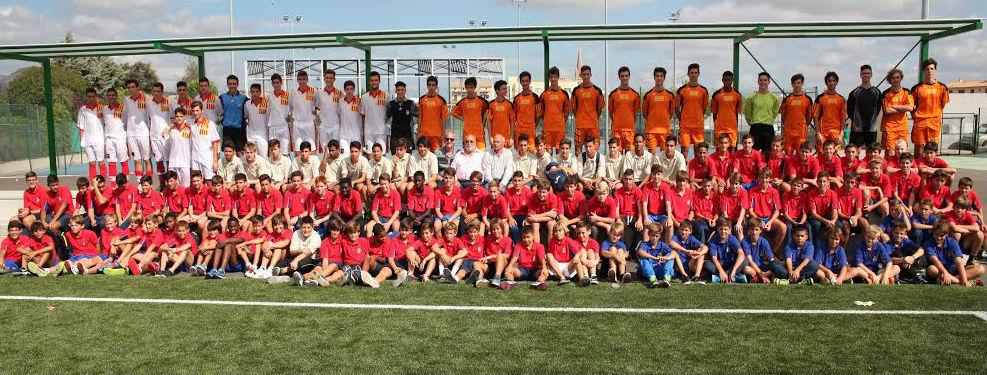 Foto de familia de todas las selecciones (Foto: ffib.es)