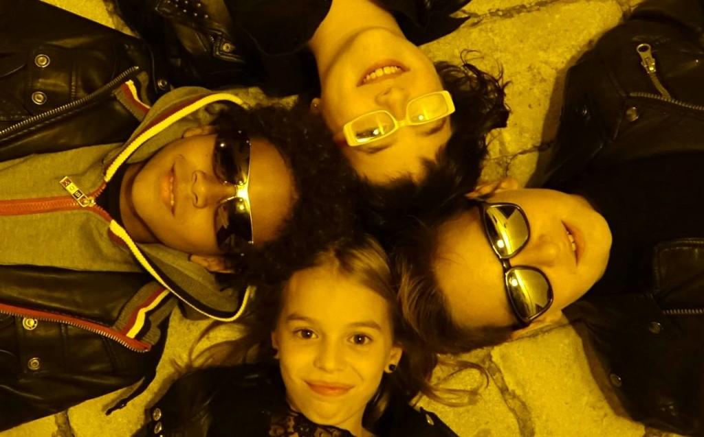 Índigo Salvador, Dani Juanico, Auba Villalonga y Jhairo Schmidt. Foto: www.nanventura.es