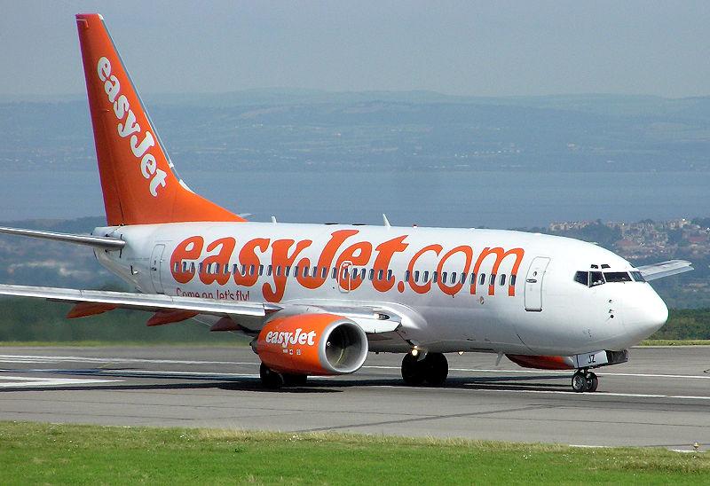 Avión de Easy Jet.