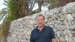 El autor de 'Camins sense retorn', Josep Masanés.