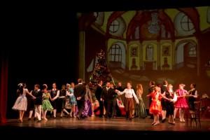 'El cascanueces' cuando fue representado en el Teatre Principal de Maó.