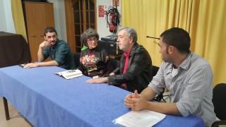 El escritor Pau Faner también se sumó a la presentación. Foto: David Caules.