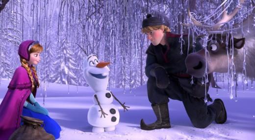 Fotograma de la película musical 'Frozen'.