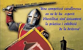 Parte de la imagen del cartel anunciador del Torneig de Glosa de este año.