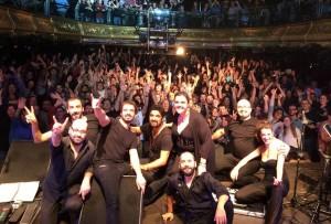 The Other Side en la sala Joy Eslava de Madrid el 21 de noviembre. Foto: T.O.S.