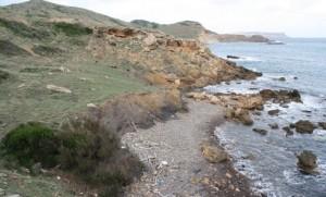 Tramo de la costa por donde transcurre la excursión. Foto: GOB-Menorca.