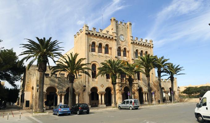 Ajuntament de Ciutadella.