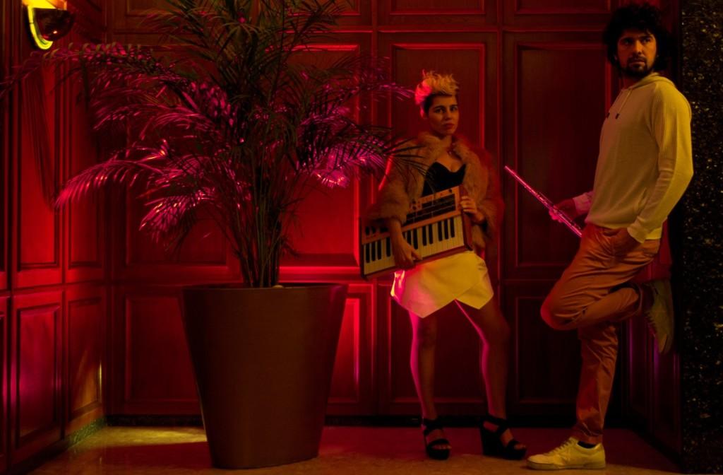 El dúo de 'electroverso' Jansky. Foto: Es Far Cultural.