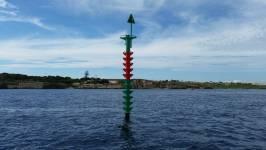 Imagen de la boya (Foto: Ports de Balears)