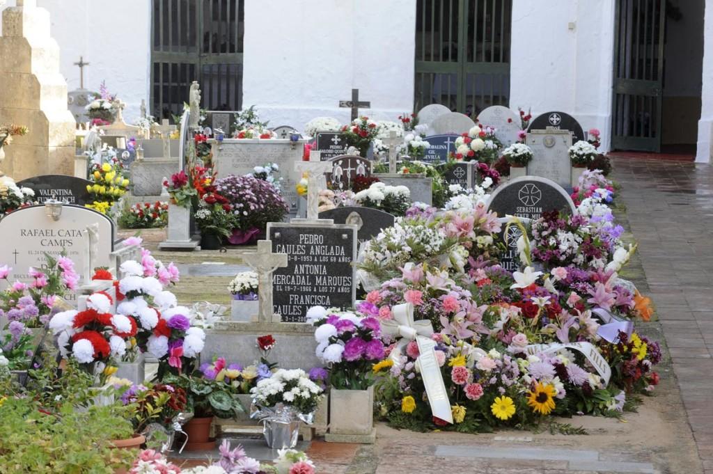 Imagen de archivo del Cementerio de Ciutadella (Fotos: T.Mercadal).