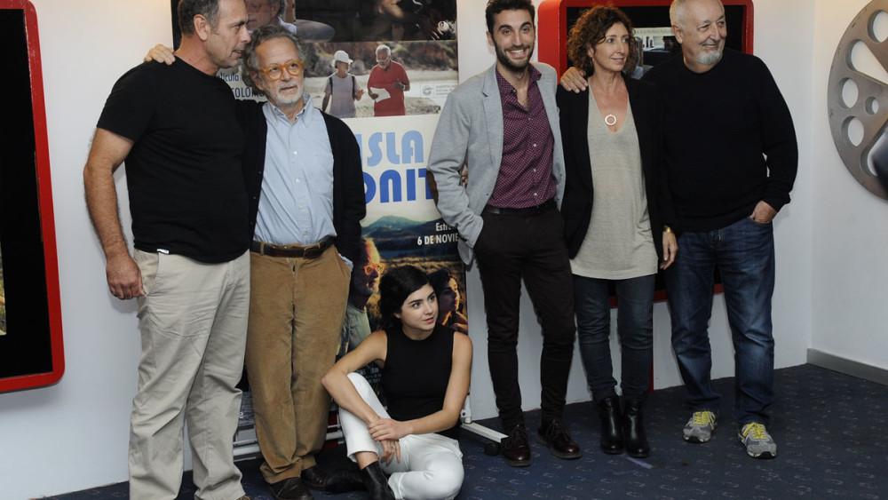 Imágenes de la presentación de la película en los cines Ocimax de Maó. Fotos: Tolo Mercadal.