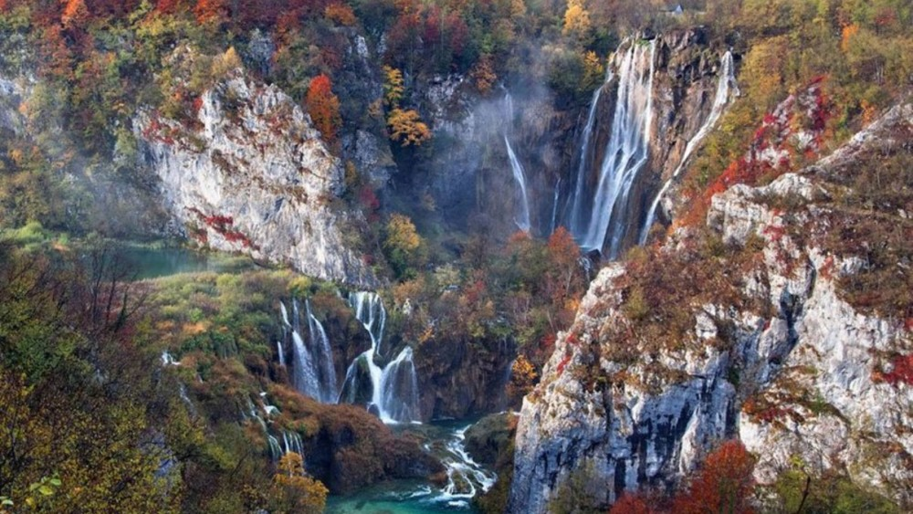 'Falls in autumn'. Plitvice Lakes National Park (Croacia). Foto: Vedrana Tafra.