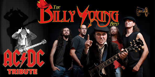 Imagen de la banda mallorquina The Billy Young Band.