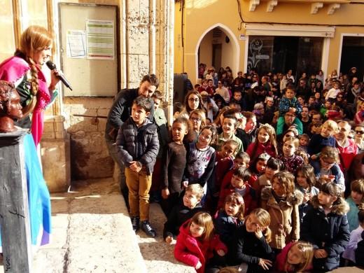 Los más pequeños ya celebran el Año Nuevo en Ciutadella