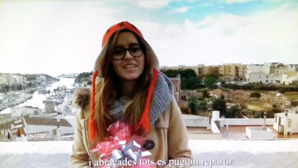 Imagen del nuevo videoclip navideño de los jóvenes del Centre Juvenil Gent Jove DOSA.