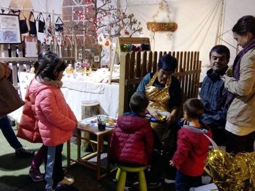 Arranca la Fira de Nadal de Ciutadella, que viene con los Gegants de Llucmaçanes