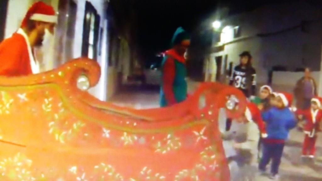 Imagen captada del videoclip en forma de lipdub del Molí de Baix de Sant Lluís.