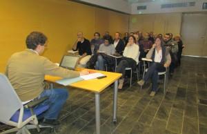 Imagen de la reunión en la que ha sido presentado el estudio jurídico y metodológico. Foto: CIM.