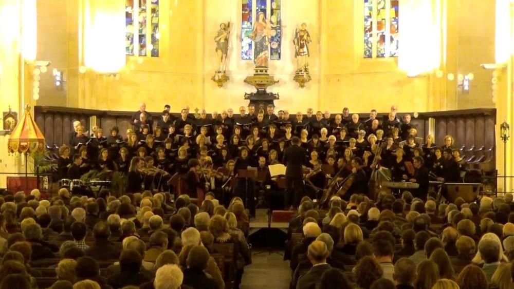 Imagen del concierto participativo en la Catedral, el martes 29 de diciembre. Foto: Capella Davídica.