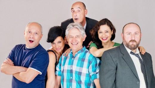 Los actores que participan en el 'Taxi' que se verá este viernes en el Principal de Maó.