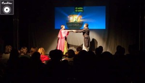 Momento de la función del estreno de este formato el pasado 6 de diciembre. Foto: Musikbox.