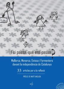 Portada del libro editado por Arrela que ha sido premiado por la Obra Cultural Balear.