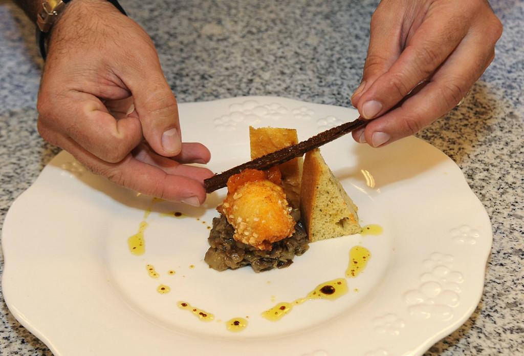 En las gastronomía menorquina es básica la utilización de los productos de la isla