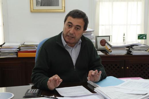 El alcalde Francesc Ametller.