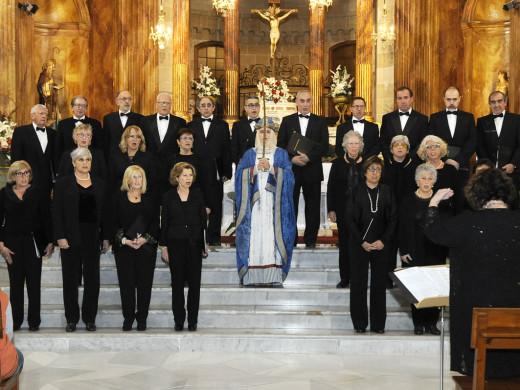 La 'Sibil·la' llena con su canto la iglesia de Santa Maria
