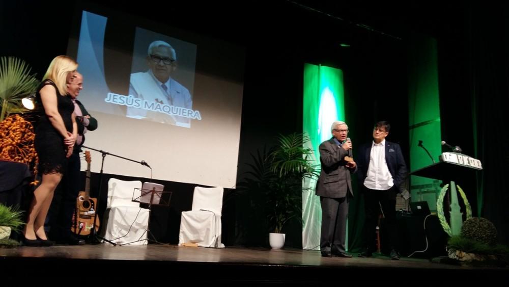 Jesús Maquiera fue galardonado con el fabiol de bronce en el apartado social.