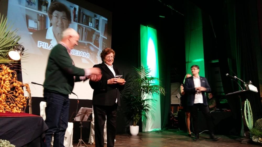 Pilar Benejam ganó el fabiol de plata de la modalidad social.