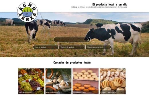 Captura de la página web de AgroXerxa. Foto: OBSAM.